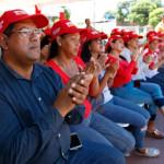 Candidatos del PSUV y GPPSB del municipio Mariño