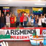 Candidatos del PSUV y GPPSB del municipio Arismendi