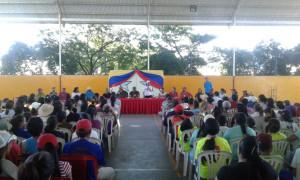 En Península de Macano el encuentro se llevó a cabo en Boca de Pozo