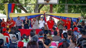 Candidatos del PSUV y GPPSB en el municipio Gómez