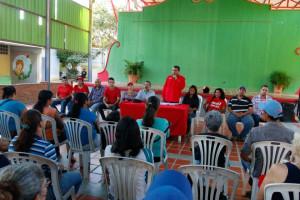 Candidatos del PSUV y GPPSB en el municipio Maneiro