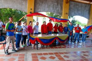 Candidatos del PSUV y GPPSB en el municipio Península de Macanao