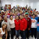 Candidatos del PSUV y GPPSB en el municipio Tubores