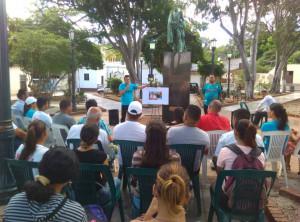 Homenaje a Xoan Noya en Nueva Esparta
