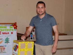 Viceministro de Interior Hanthony Coello, votó en Nueva Esparta